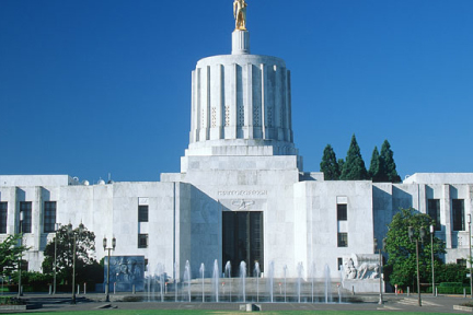 Picture of the Oregon State Capitol