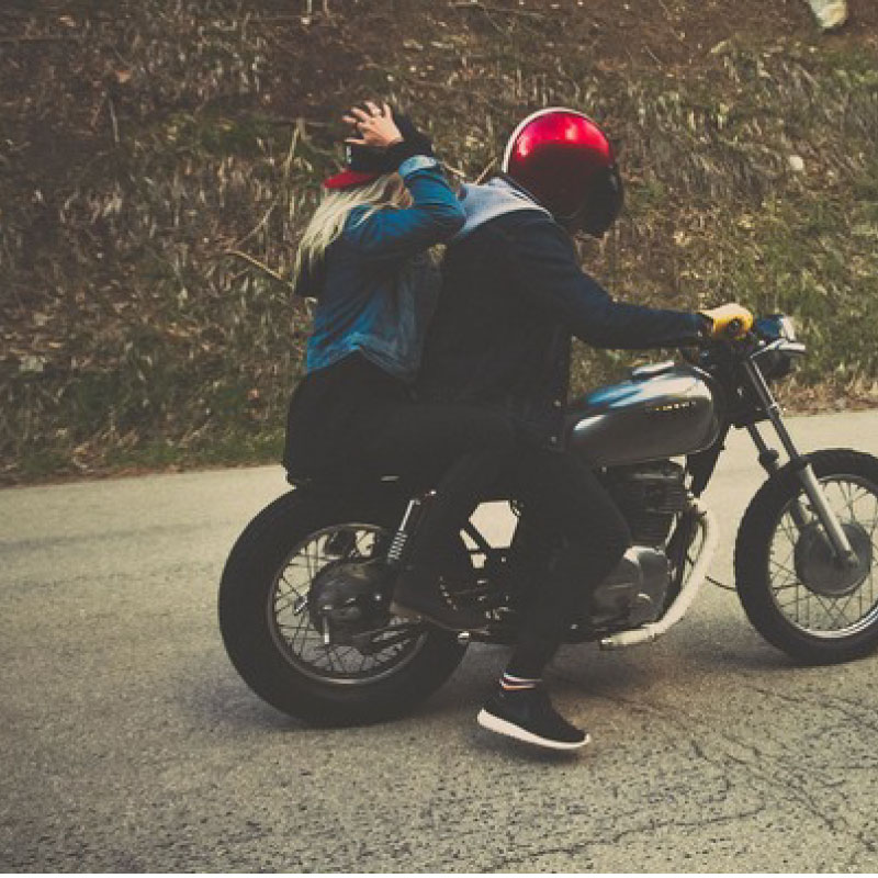 pictures of people on a motorcycle