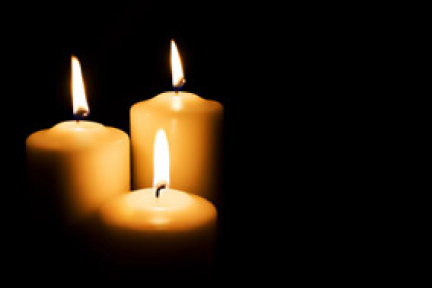 picture of three candles
