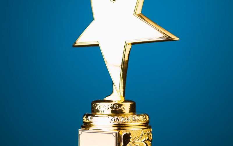 Picture of an award.