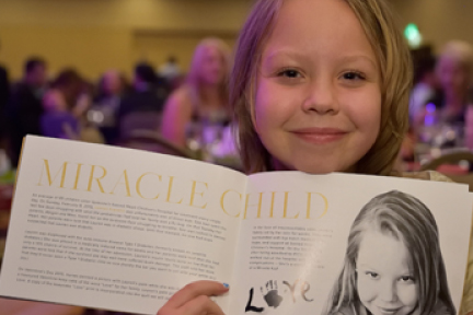 Picture of miracle child