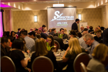 picture of spectrum awards attendees