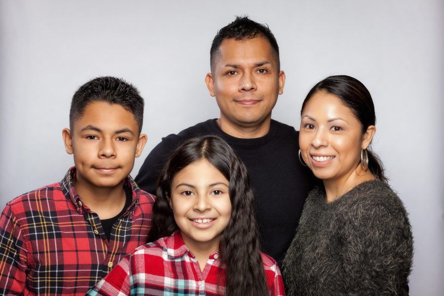 Picture of the Lopez family