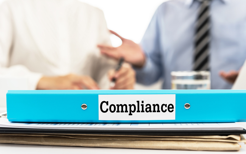 Picture of Compliance document folder