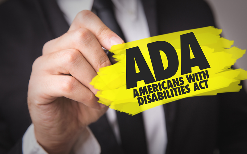 ADA - Americans With Disabilities Act