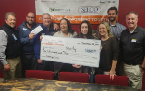 Picture of big check