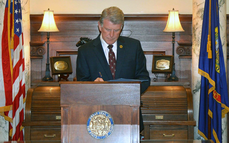 Picture of Governor Butch Otter Idaho