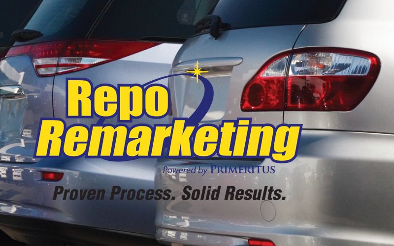 Repo Remarketing Logo with background image
