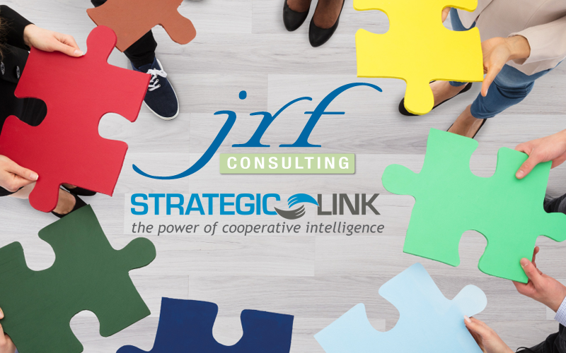 SLI & JRF Consulting logos with image