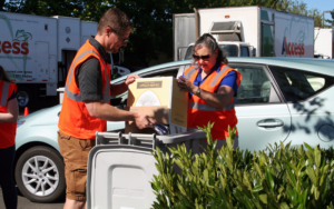 Picture of Oregon State CU shred day event