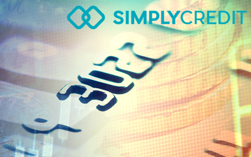 SimplyCredit Logo with background image