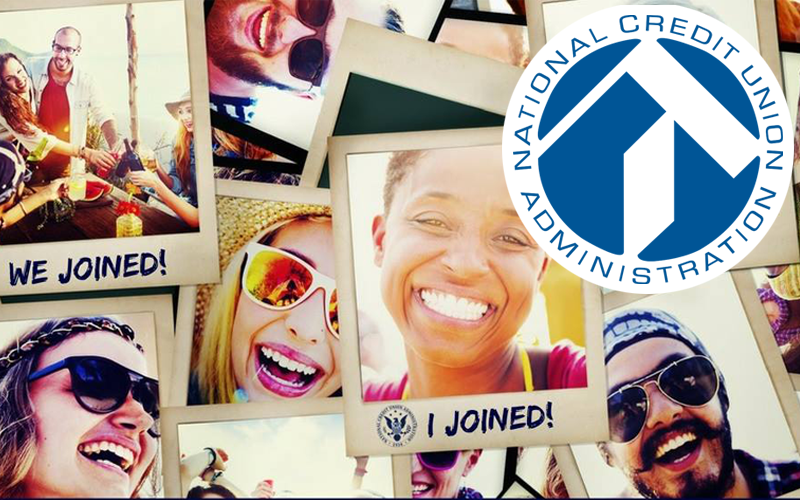 Picture of people and NCUA logo