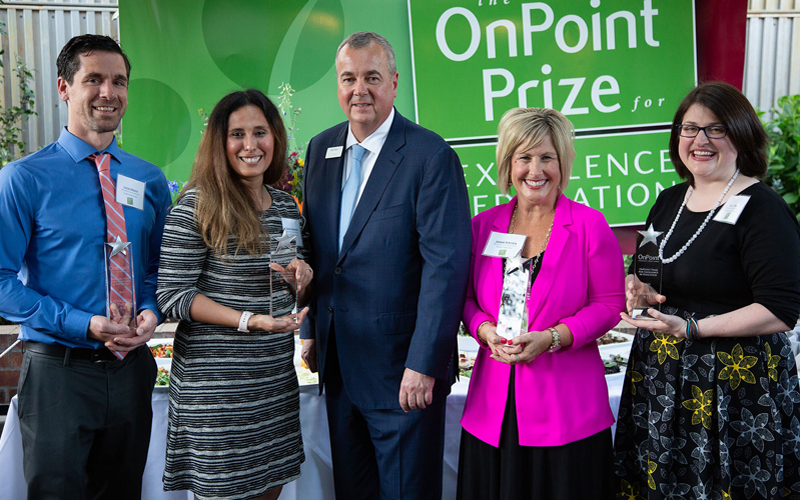 Picture of OnPiont Prize Winners