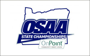 OSAA State Championships and OnPoint Community Credit Union Logo