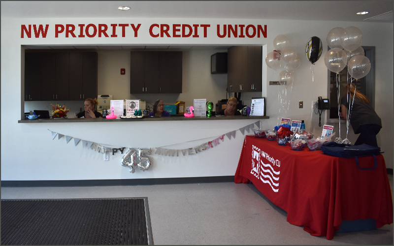 NW Priority Credit Union Branch