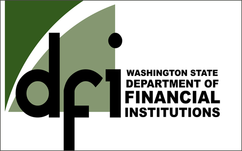 Washington State Department of Financial Institutions logo