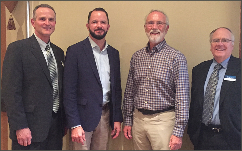 credit union photo with Congressman Newhouse
