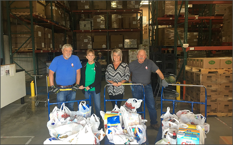 Idahos Southwest Chapter Of Credit Unions Tackle Hunger