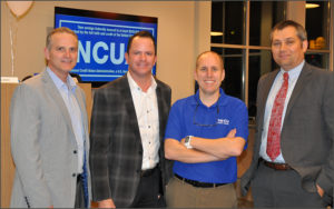 CU Leadership, Don Miller, Troy Stang, Doug Wadsworth, Jim Drake