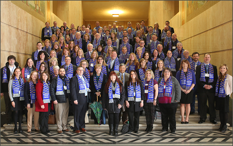 Advocates at OR Day at the Capitol