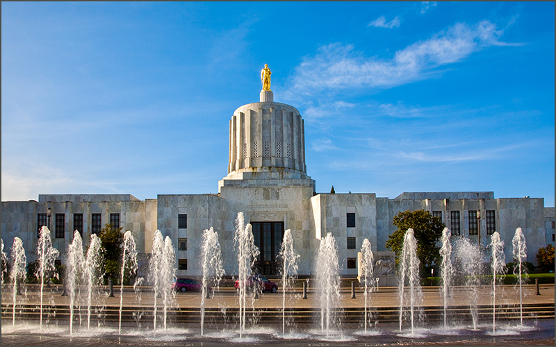 Salem, Oregon state capitol