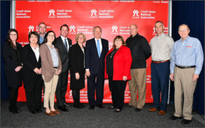 Idaho Senator Mike Crapo with CUNA GAC Attendees