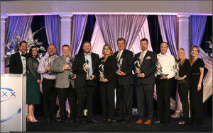 Nine credit unions are awarded the Cooperation in Action award at MAXX 2019.